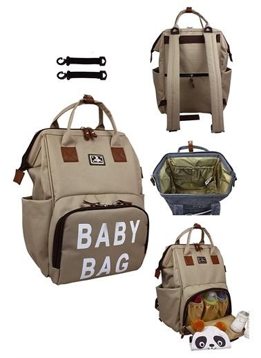 Stylo Roma Baby Bag Baskılı Anne Bebek Bakım Sırt Çantas Renkli